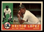 1960 Topps #163  Hector Lopez  Front Thumbnail