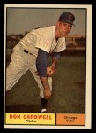 1961 Topps #564  Don Cardwell  Front Thumbnail