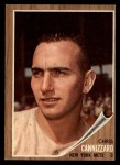 1962 Topps #26  Chris Cannizzaro  Front Thumbnail