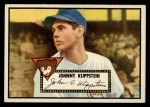 1952 Topps #148 CRM Johnny Klippstein  Front Thumbnail