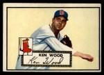 1952 Topps #139 CRM Ken Wood  Front Thumbnail