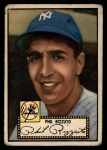 1952 Topps #11 BLK Phil Rizzuto  Front Thumbnail
