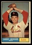 1961 Topps #535  Larry Jackson  Front Thumbnail