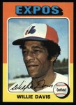 1975 Topps #10  Willie Davis  Front Thumbnail