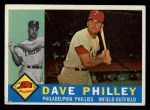1960 Topps #52  Dave Philley  Front Thumbnail