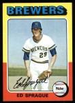 1975 Topps #76  Ed Sprague  Front Thumbnail