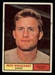 1961 Topps #201  Pete Whisenant  Front Thumbnail