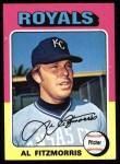 1975 Topps #24  Al Fitzmorris  Front Thumbnail