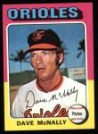 1975 Topps #26  Dave McNally  Front Thumbnail