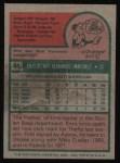 1975 Topps #84  Enzo Hernandez  Back Thumbnail