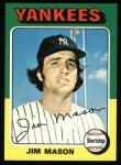 1975 Topps #136  Jim Mason  Front Thumbnail