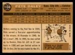 1960 Topps #108  Pete Daley  Back Thumbnail