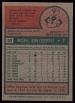 1975 Topps #97  Earl Williams  Back Thumbnail