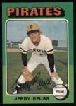 1975 Topps #124  Jerry Reuss  Front Thumbnail