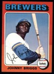 1975 Topps #123  Johnny Briggs  Front Thumbnail