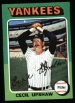 1975 Topps #92  Cecil Upshaw  Front Thumbnail