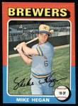 1975 Topps #99  Mike Hegan  Front Thumbnail