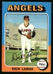1975 Topps #114  Dick Lange  Front Thumbnail