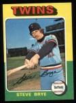 1975 Topps #151  Steve Brye  Front Thumbnail