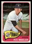 1965 Topps #177  Pete Mikkelsen  Front Thumbnail