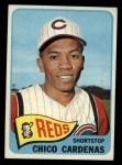 1965 Topps #437  Leo 'Chico' Cardenas  Front Thumbnail