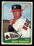 1965 Topps #487  Woody Woodward  Front Thumbnail