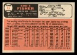 1966 Topps #85  Eddie Fisher  Back Thumbnail