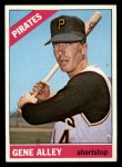 1966 Topps #336  Gene Alley  Front Thumbnail