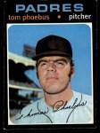 1971 Topps #611  Tom Phoebus  Front Thumbnail