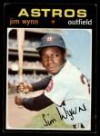 1971 Topps #565  Jim Wynn  Front Thumbnail