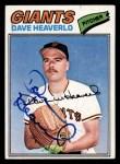 1977 Topps #97  Dave Heaverlo  Front Thumbnail
