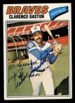 1977 Topps #192  Cito Gaston  Front Thumbnail
