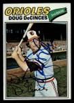 1977 Topps #216  Doug DeCinces  Front Thumbnail
