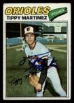 1977 Topps #238  Tippy Martinez  Front Thumbnail