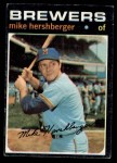 1971 Topps #149  Mike Hershberger  Front Thumbnail