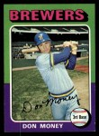 1975 Topps #175  Don Money  Front Thumbnail