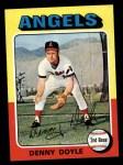 1975 Topps #187  Denny Doyle  Front Thumbnail