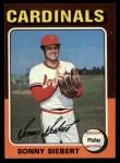 1975 Topps #328  Sonny Siebert  Front Thumbnail
