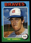 1975 Topps #177  Vic Correll  Front Thumbnail