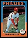1975 Topps #292  Ron Schueler  Front Thumbnail