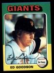 1975 Topps #322  Ed Goodson  Front Thumbnail