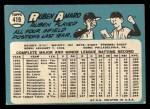 1965 Topps #419  Ruben Amaro  Back Thumbnail