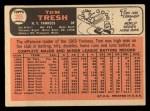 1966 Topps #205  Tom Tresh  Back Thumbnail