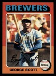 1975 Topps #360  George Scott  Front Thumbnail