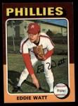 1975 Topps #374  Eddie Watt  Front Thumbnail