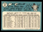 1965 Topps #337  Mike Cuellar  Back Thumbnail