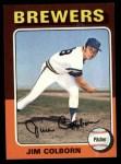 1975 Topps #305  Jim Colborn  Front Thumbnail