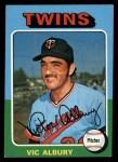 1975 Topps #368  Vic Albury  Front Thumbnail