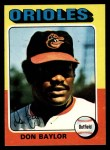 1975 Topps #382  Don Baylor  Front Thumbnail
