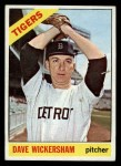 1966 Topps #58  Dave Wickersham  Front Thumbnail